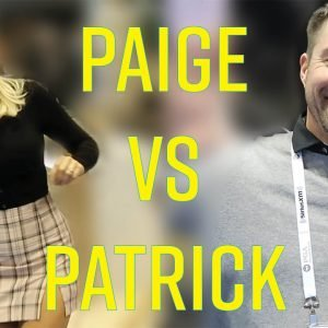 PAIGE VS. PATRICK AT THE 2020 PGA SHOW // COOL GOLF PRODUCTS, MODEL-OFFS, & A GOLDEN TEE SHOWDOWN