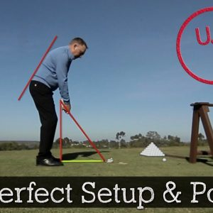 3 Steps to a Perfect Golf Setup Posture - Golf Swing Tips