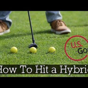 3 Swing Tips for Hitting Golf Hybrids