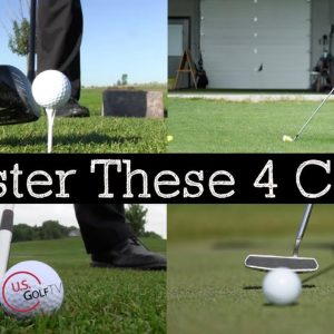 4 Golf Clubs Every Golfer Must Master (GOLF LESSON)