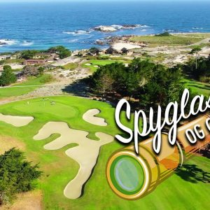A REMATCH WITH SPYGLASS HILL OUR FAVORITE GOLF COURSE/FRONT 9 HOLES