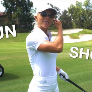 ALISA DIOMIN IS RIPPED!  SO IS HER GOLF GAME!