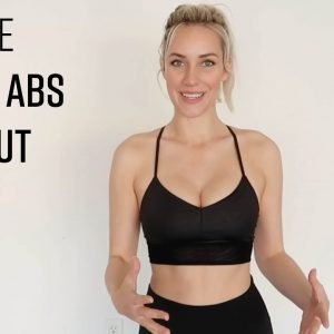AT-HOME ARMS & ABS WORKOUT // NO EQUIPMENT REQUIRED