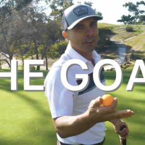 BIG CAT HITS A WEDGE RIGHT-HANDED TO PERFECTION! / GOAT HILL²