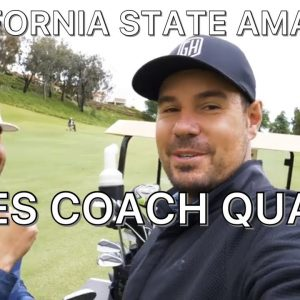 CAN COACH QUALIFY FOR THE CAL STATE AMATEUR?