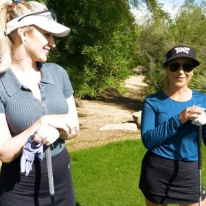 CAN I BEAT GOLFHOLICS WITH CHELSEA PEZZOLA?! // PART TWO