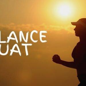 Cardio Exercise 3: Balance Squat