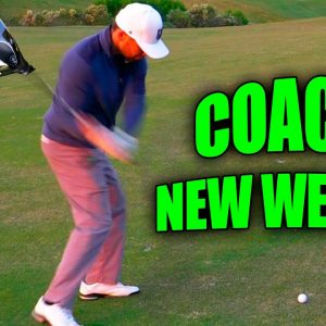 COACH HAS A NEW CLUB IN THE BAG AND HE LOVES IT!