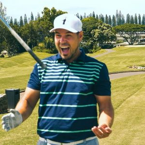 DID I JUST GET A HOLE IN ONE?//KAPALUA COURSE VLOG 3/3