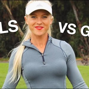 THE LADIES OF YOUTUBE GOLF BATTLE THE GUYS!/MISSION VIEJO COUNTRY CLUB/PART 1