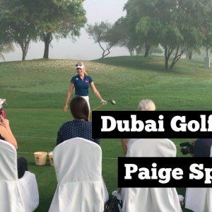 Dubai Bloggers Golf Clinic // Paige Spiranac