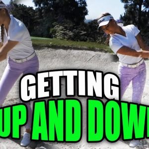 GETTING UP AND DOWN FOR PAR/AVIARA GOLF COURSE