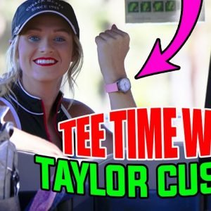 GOLF COURSE VLOG WITH TAYLOR CUSACK//PART 1