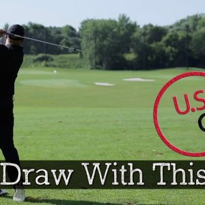 Golf Draw - How to Hit a Draw With the Clock Drill
