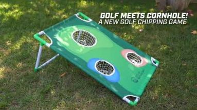 Golf Meets Cornhole | Practice Your Game Anywhere
