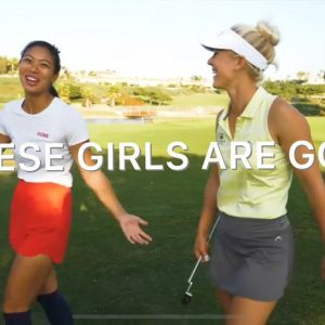 GOLF VLOG WITH ALISA AND ISABELLE!/MONARCH BEACH³