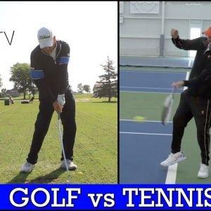 Golf vs Tennis - How Fundamentals Shape Each Sport