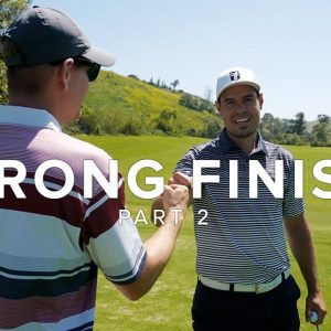 GOLFHOLICS / BE BETTER GOLF COURSE VLOG AT ARROYO TRABUCO // PART 2