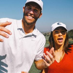 GOLFING WITH BRODIE SMITH THE FRISBEE LEGEND! / PART 1