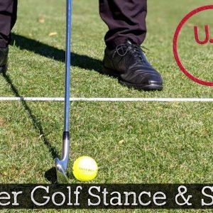 Guide to a Proper Golf Stance (Golf Setup Position)