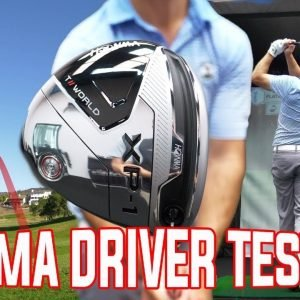 HONMA DRIVER REVIEW/ON & OFF COURSE TESTING!