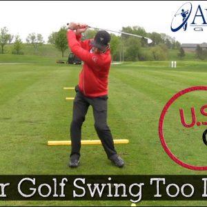 How Far Should Your Golf Backswing Be? (Golf Swing Basics)