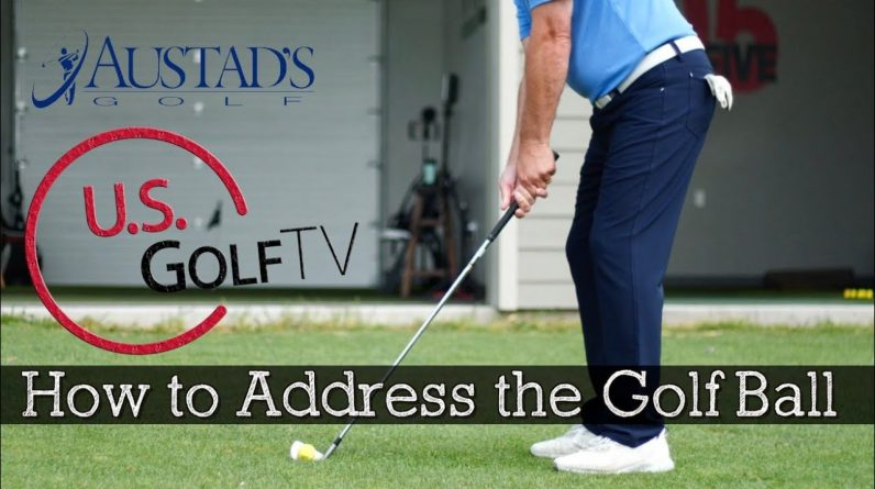 How to Address the Golf Ball With Irons (Golf Setup)