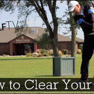 How to Clear Your Hips Through Impact (Golf Hips Drills)