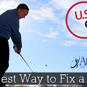 How to Fix a Hook in Golf (Simple Golf Drills)
