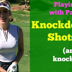How to Hit a Knockdown Shot // Golf Tips with Paige Spiranac // Shadow Creek