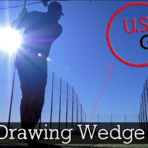How to Hit a Low Drawing Wedge Shot