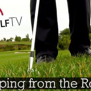 How to Hit Chip Shots from Rough (Golf Ball Position)