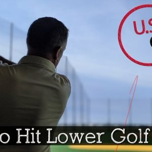 How to Hit Lower Golf Shots (Golf Stinger)