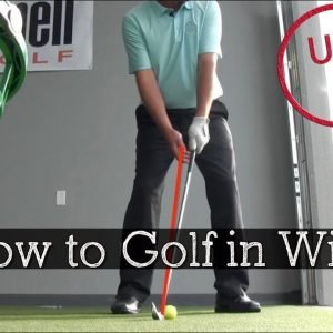 How to Hit Lower Shots in Wind