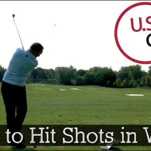 How to Hit Wedges and Irons in Wind (Golf Swing Tips)
