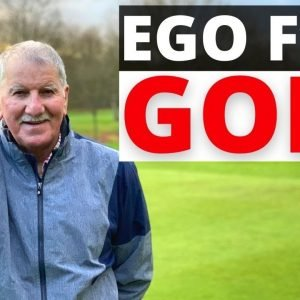 HOW TO PLAY BETTER GOLF WITH NO EGO - LIKE THIS 80 YR OLD GOLFER