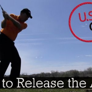 How to Release the Arms in the Golf Swing - Golf Swing Release Drill