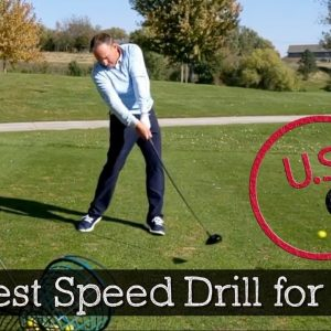 How to Release the Golf Club for More Distance - Golf Release Drill