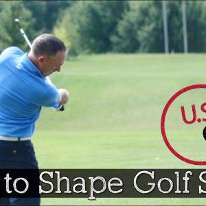 How to Shape Golf Shots