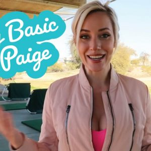 How to Start Golfing // Being Basic with Paige Beginner Golf Series