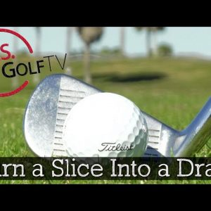 How to Turn an Ugly Golf Slice into a Nice High Draw