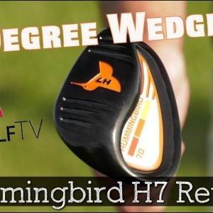 Hummingbird H7 Wedge Review - Built in Flop/Bunker Loft?