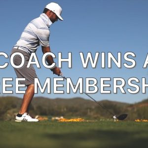 I'LL BET YOU A MEMBERSHIP YOU CAN'T.....? GRAB MY 8 IRON!