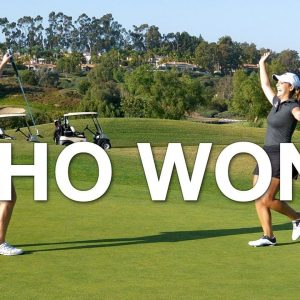 IT CAME DOWN TO THE LAST HOLE! - WHO WON?