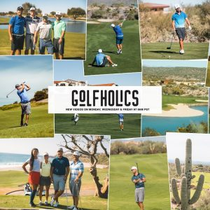 LIVE WITH GOLFHOLICS!