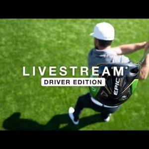 LIVESTREAM - DRIVER EDITION!