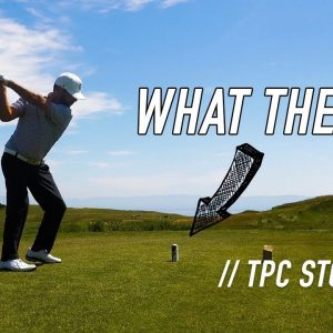 LONG DRIVE FOR A GIVEAWAY! // TPC STONEBRAE / PART 2