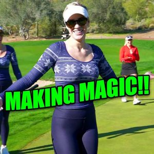 MAKING SOMETHING OUT OF NOTHING!/THAT'S GOLF FOR YA!