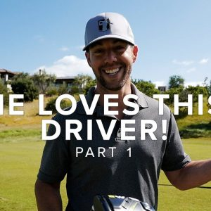 NEW DRIVER, NEW PUTTING STROKE & NEW HATS! // PART 1