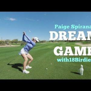 Paige Spiranac 18Birdies DreamGame Golf Experience